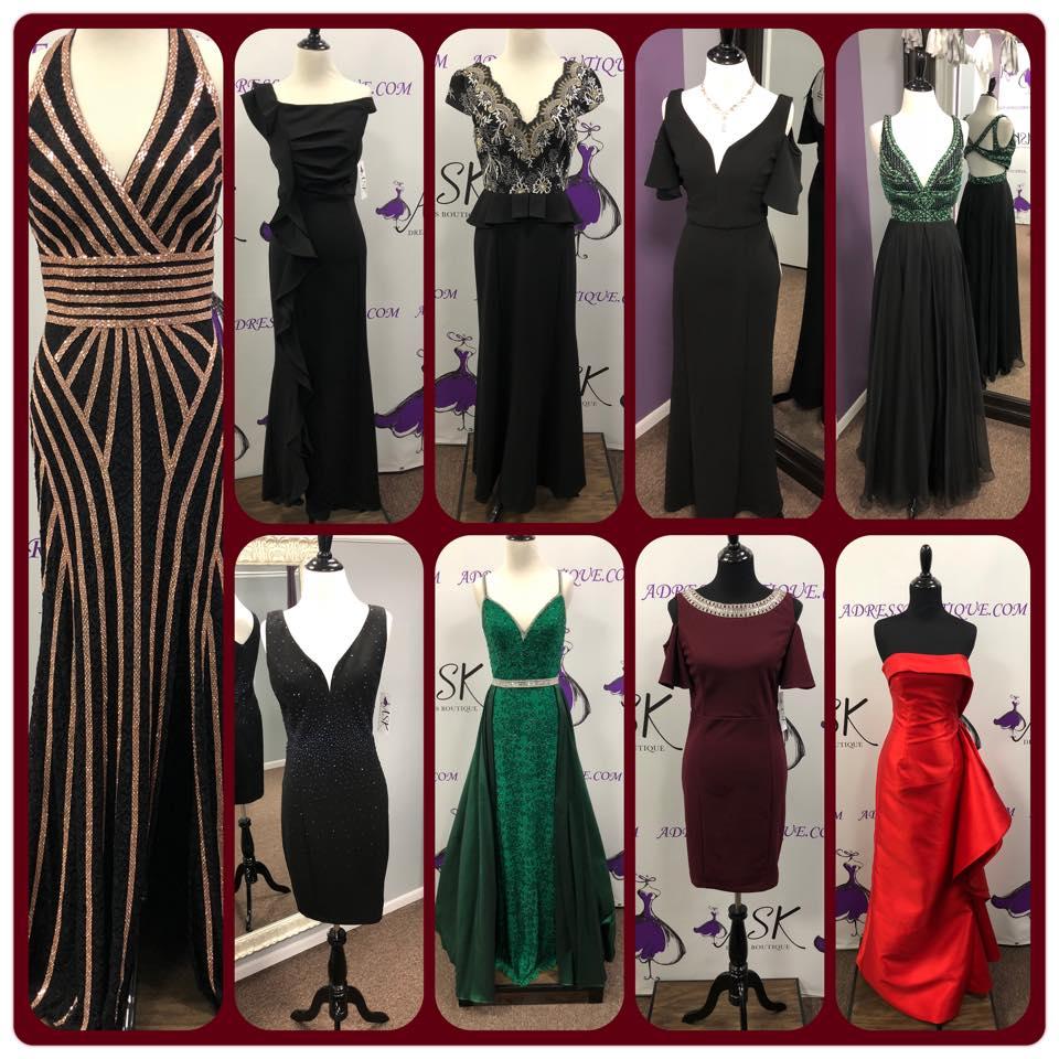 Gala, Fundraiser, Black Tie Event Dresses