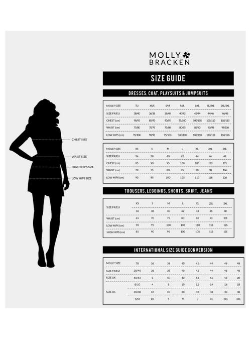 MollyBrackenSizeChart